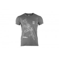 Specna Arms Shirt - Your Way of Airsoft 01 - Grey/White
