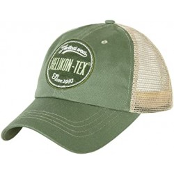 Trucker Logo Cap - Cotton Twill - Green