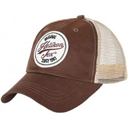 Trucker Logo Cap - Cotton Twill - Mud Brown