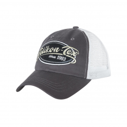 Trucker Logo Cap - Cotton Twill - Shadow Grey/White