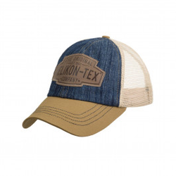 Trucker Logo Cap - Denim - Dark Blue / Khaki C