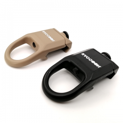ENGANCHE RACCOON RAIL SLING SWIVEL BK RSA003