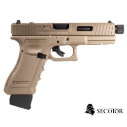 PISTOLA CO2 BLOW BACK GLADIUS MAGNA III TAN SECUTOR ARMS