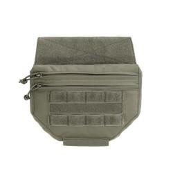 Drop Down Velcro Utility Pouch Ranger Green (Warrior)