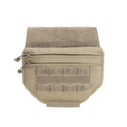 Drop Down Velcro Utility Pouch Coyote (Warrior)