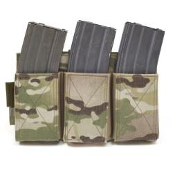 Pouch Triple Portacargador M4 / AK Elastico Warrior Assault