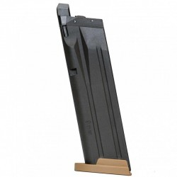Cargador P320 M18 Full Metal GBB 21rds Tan (SIG Sauer)