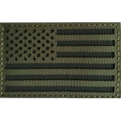 Parche Bandera USA infrarrojo IR Verde
