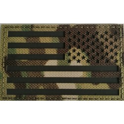 Parche Invertido Bandera USA infrarrojo IR MULTICAM