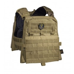 Chaleco Conquer CVS Plate Carrier Coyote