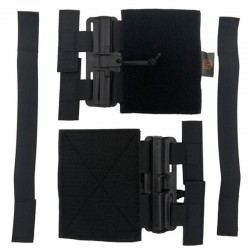 Conquer QR Buckle Set for Tactical Vest BK