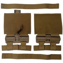 Conquer QR Buckle Set for Tactical Vest TAN