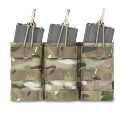 Pouch Portacargador Triple M4 Warrior Assault Open Top Multicam
