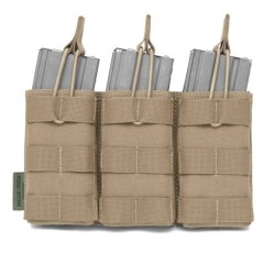 Pouch Portacargador Triple M4 Warrior Assault Open Top Tan