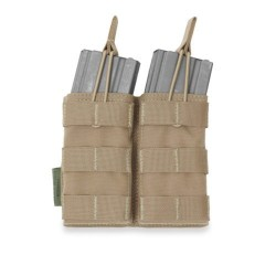 Pouch Portacargador Doble M4 Warrior Assault Open Top Coyote Tan