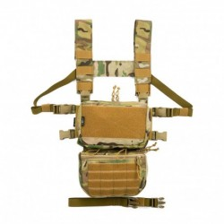 Chaleco Chest Rig Resgear Advanced Modular Rig Full Set Multicam