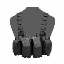 Chaleco Chest Rig Warrior Assault Pathfinder Negro