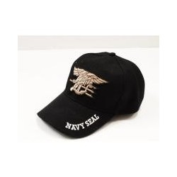 Gorra Beisbol Navy Seal Negro