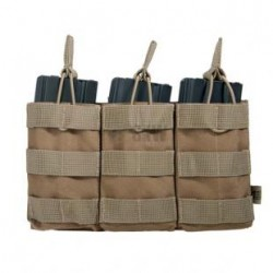 M4 Triple Magazine Pouch Tan Delta Tactics