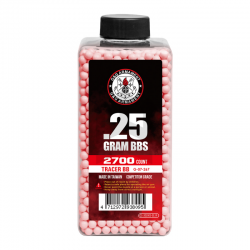 Bbs G&G  Tracer BB 0.25g 2700R (rojas)