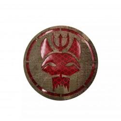 Parche Tan y Rojo Equipo Bravo - Seal Team