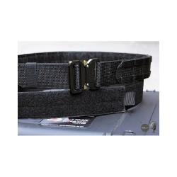 Cinturon Tactico Negro 1,75 pulgadas con hebilla metálica - TMC